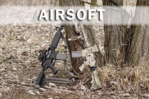 Armas largas ABR para jugar Airsoft